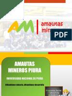 Amautas Mineros Piura - Charlas a Las Escuelas