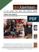 Lesiones y Más Lesiones (I) ‹ Basket Americano