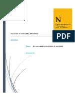 Reconocimiento Cualitativo de Proteínas