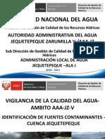 5.Identificación de Fuentes Contaminantes Cuenca -Jequetepeque