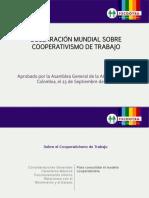 Cooperativa Tratado Internacional