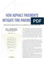 How Asphalt Pavements Mitigate Tire-Pavement Noise