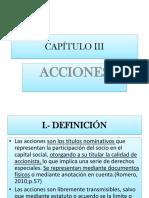 Cap. 3 Acciones