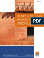 Designing for Movement in Brickwork