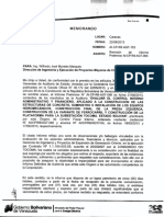 Memo Auditoria OIV