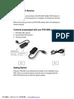 TMC Receiver RTA-3000_Quick Guide