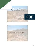 1.- Importancia Del Sector Minero en Chile