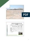 2.- La Industria Minera en Chile
