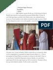 Predica Papei de Rusalii