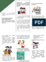 Leaflet PHBS DiSEkolah