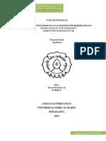 16. Strategi Pengembangan Agroindustri Keripik Pisang Di Kecamatan Tawangmangu Kabupaten Karanganyar