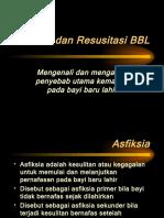 05a Asfiksia Dan Resusitasi BBL