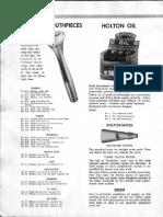 Holton Mouthpiece Info