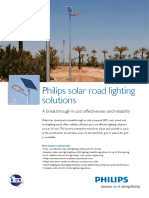 Philips Lighting Solar Road Lighting Brochure