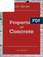 Properties of Concrete by a m Neville