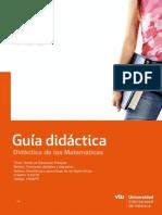 16GEPR. Didáctica de Las Matemáticas
