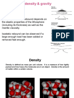 Isostasy 7 Density and Gravity