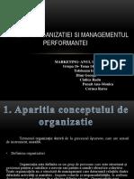 Eficienta Organizatiei Si Managementul 1