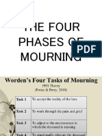 Four phases of Mourning