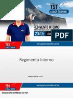 Projeto TST- Regimento Interno - Ivan Lucas