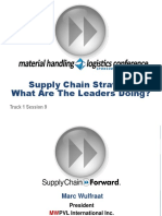 MWPVL International - Supply Chain Strategy - What Are the Leaders Doing