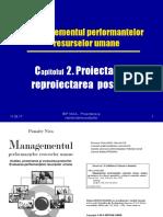 Cap 2. Proiectarea Si Reproiectarea Posturilor