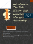 Introduction Management Accounting - Chpt 1,2