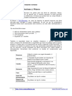 1. Dieta Para Culturismo y Fitness