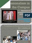 Professionalism in Campus