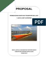 Proposal Bantuan Ketinting WABAR
