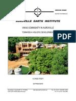 Vikas Community in Auroville Towards a Holistic D..Pments a.satprem 2000