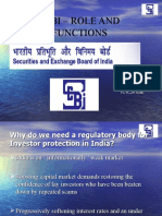 SEBI Role and Functions