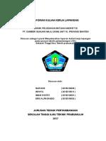 laporan teknik peledakan PT. SUMBER GUNUNG MAJU UNIT 10