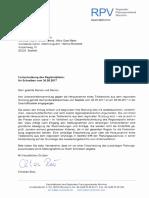 Antwort Regionaler Planungsverband München