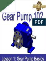 Golden Gear Pump 102 Lesson 1