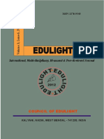 EDULIGHT Volume - 3, Issue - 6, Nov 2014
