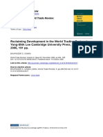 Reclaiming Development in the WTO