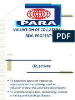 Valuation of Collateral