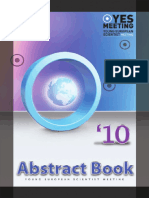 YES 2010 Abstract Book