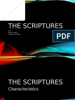 The Bible's Attributes
