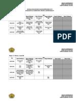 3. Jadwal Kuliah Idk II 2012