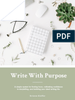 Write With Purpose (Fillable)