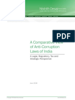 A Comparative View of Anti-Corruption Laws of India