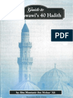 Guide to an-Nawawi's 40 Hadith (1990) by Abu Muntasir
