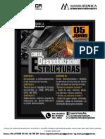 02° Temario del Curso de Especialización en Estructuras ETABS2016-SAFE2016-SAP2000-Junio 2017