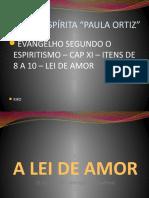 ESE Cap Xl - Item 8 a 10 - Lei de Amor
