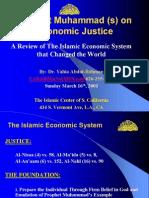 Prophet Muhammed on Economic Justice Ppt