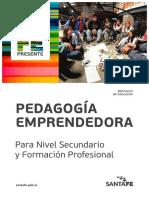 Pedagogía Emprendedora Para Nivel Medio y Formación Profesional