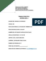 Trabajo 636 Marilini Informe i. Modelos Contables