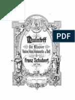 Schubert - Forellen Trout Quintet